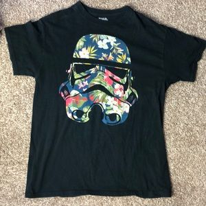 Star Wars Stormtrooper Floral Graphic T shirt